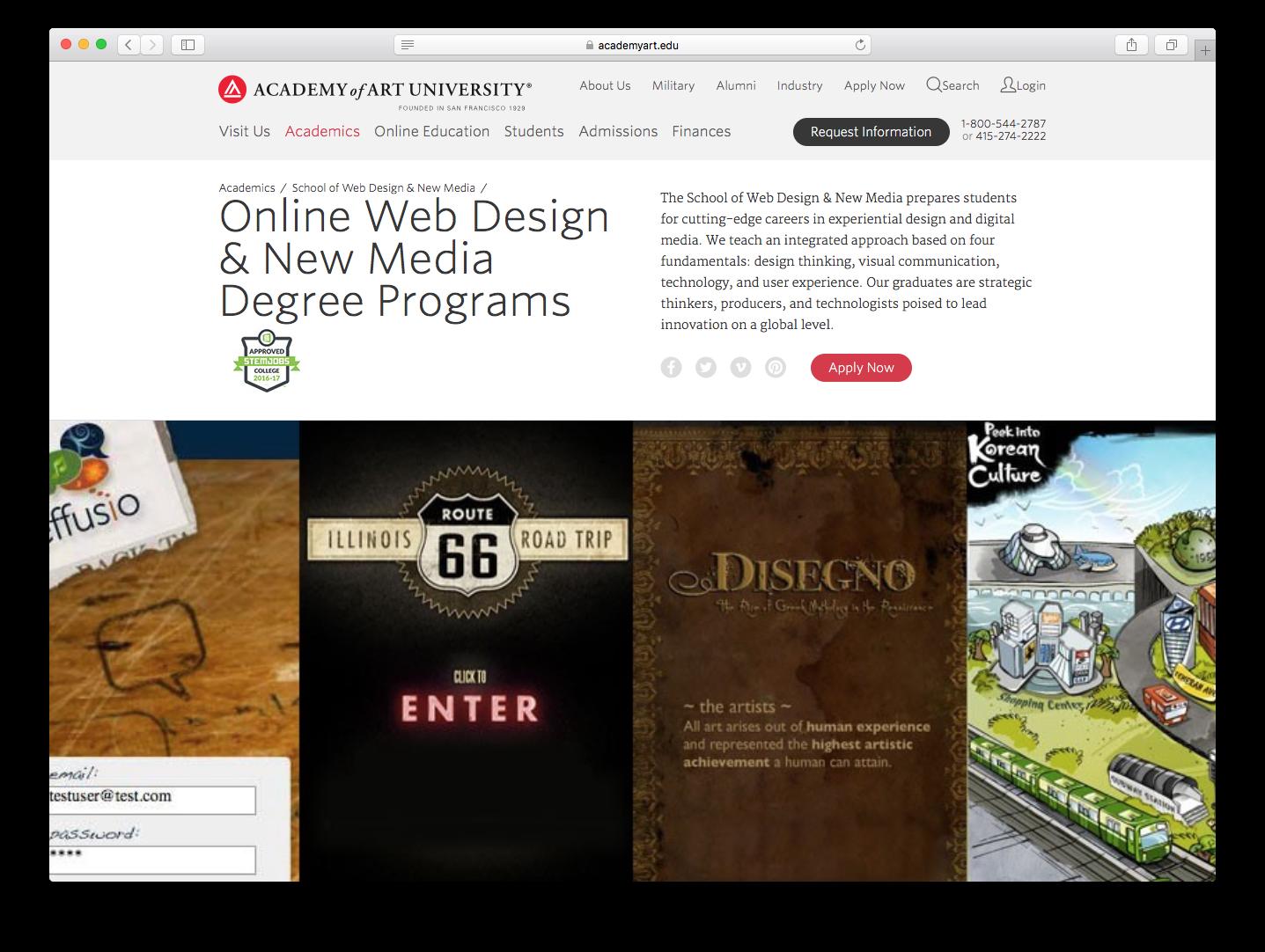 Дизайн сайтов курсы