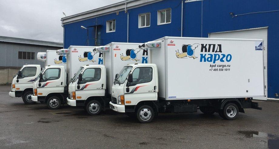 «КПД-Транспорт» получила автомобили HD35 и HD78 с фургонами высокой изотермичности и рефрижераторными установками (фото: «Хёндэ Трак энд Бас Рус»)
