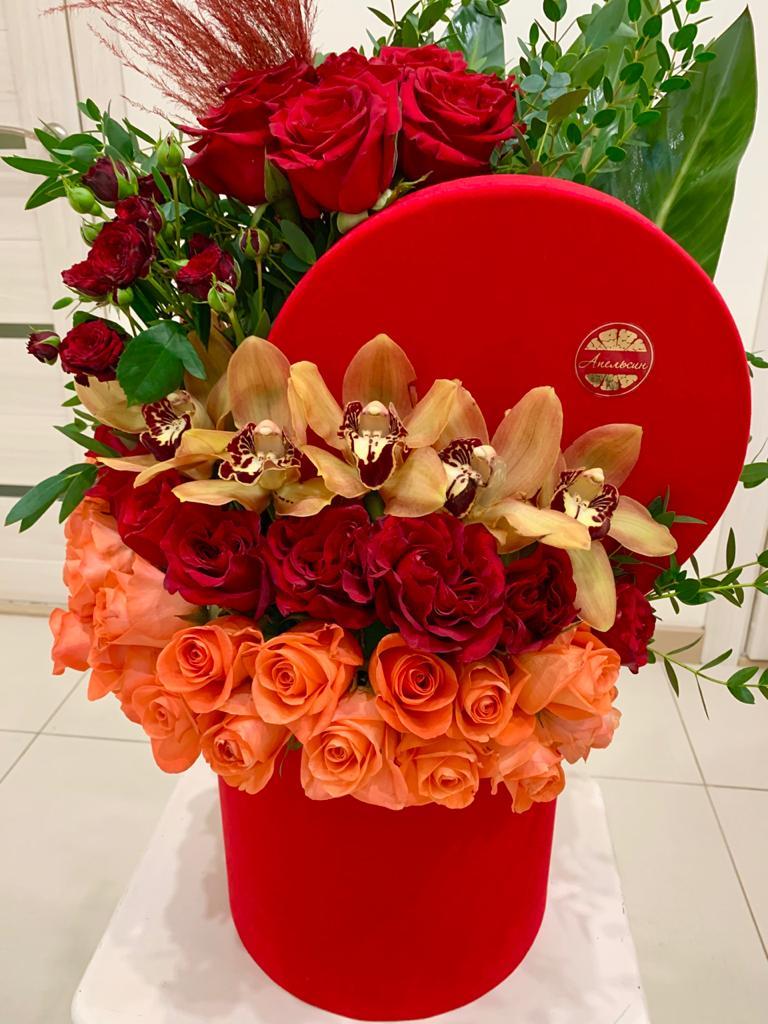 цветы к главному празднику всех влюблённых