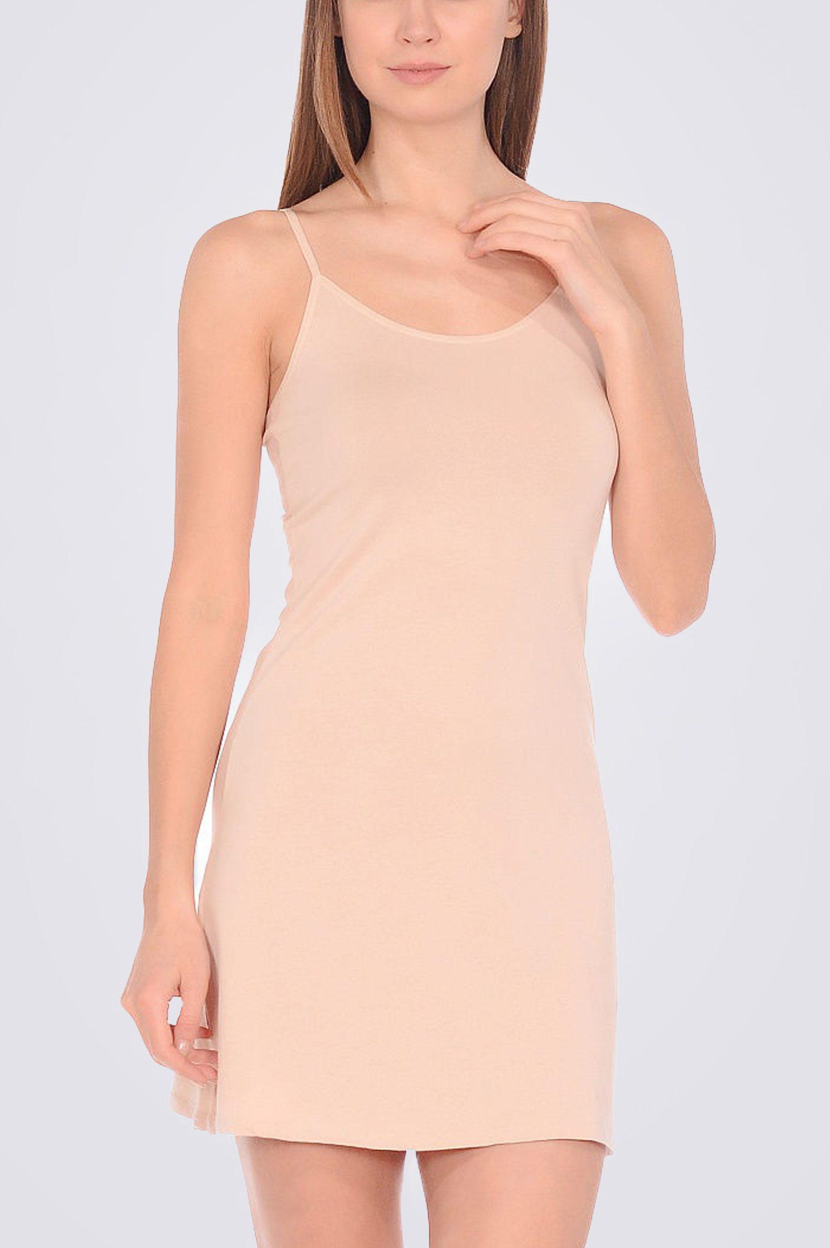 Платье-комбинация Doreanse 11127  бежевый EGOStyle