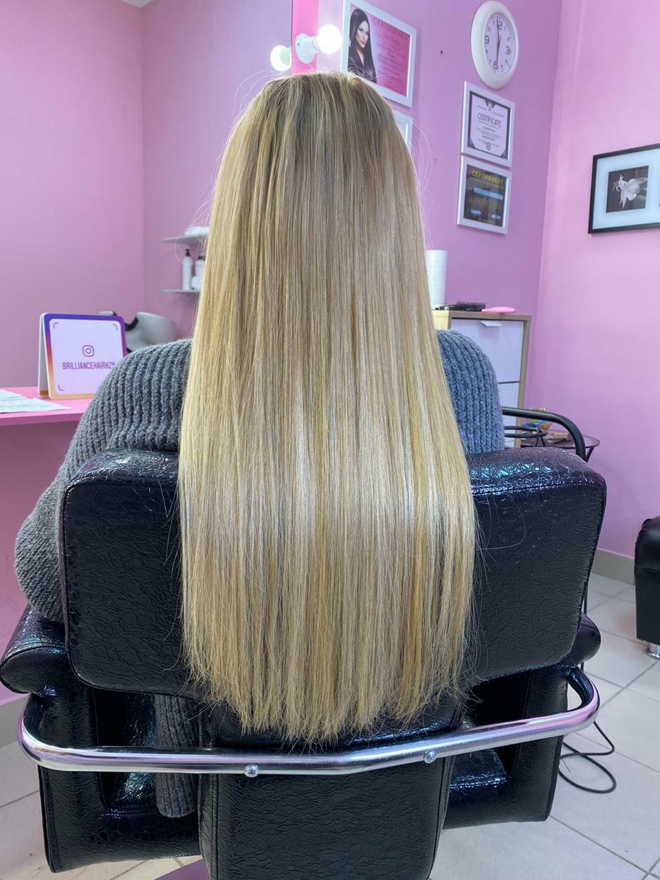 Нарощеные волосы