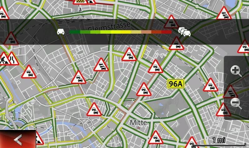 онлайн-сервисы пробки навигация мазда