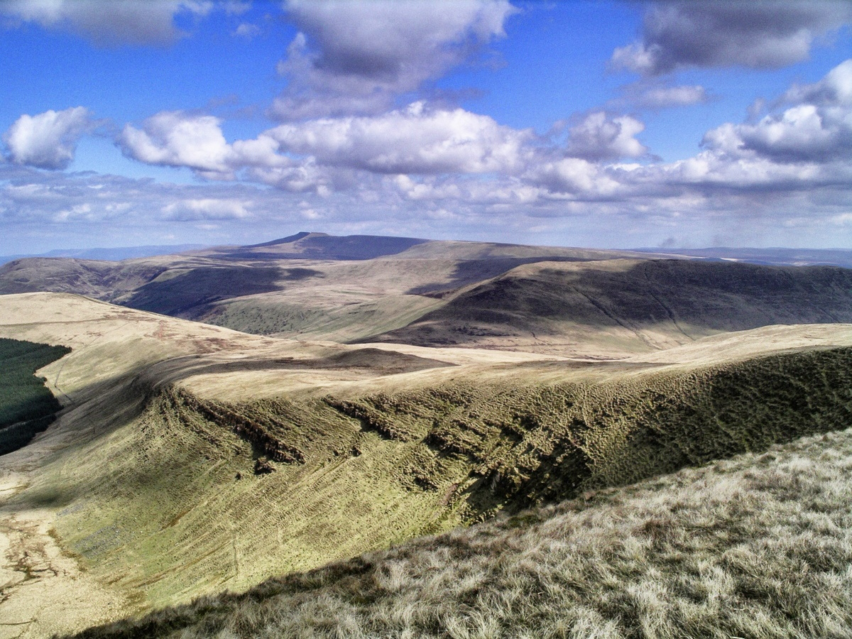 View of Brecon Beacons film location