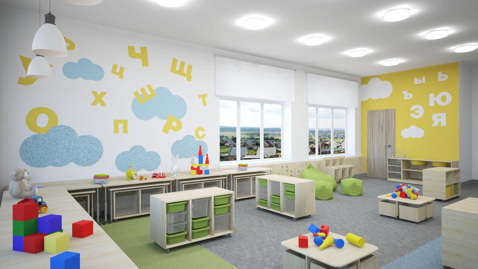 Картинки интерьера групп детского сада