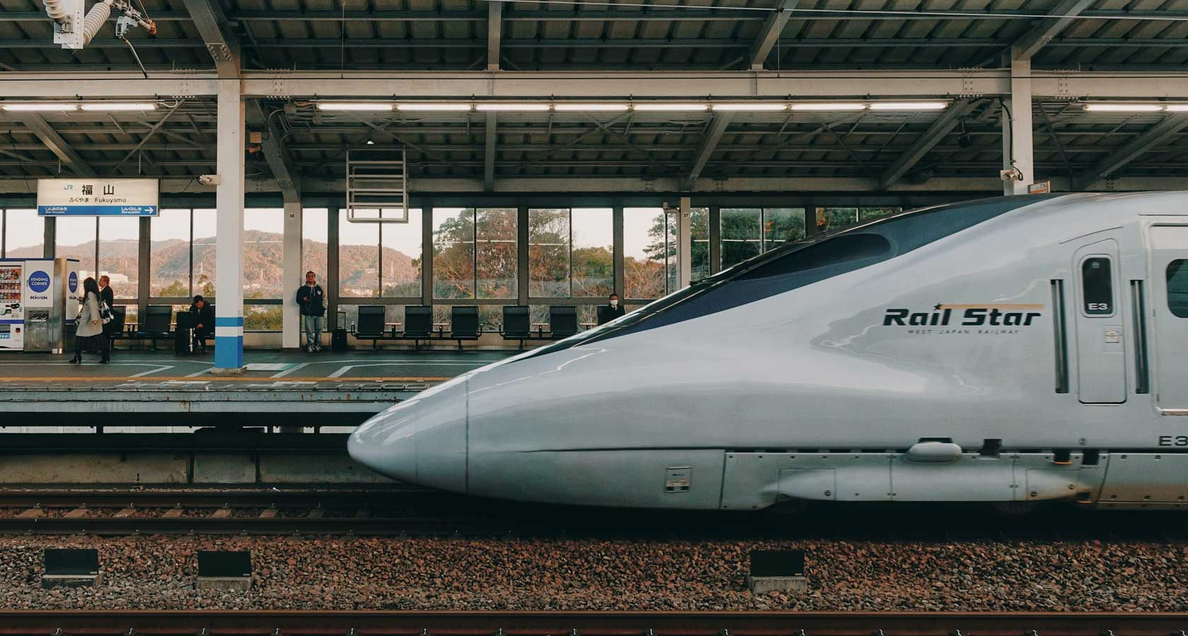 поезд пуля синкансэн в японии