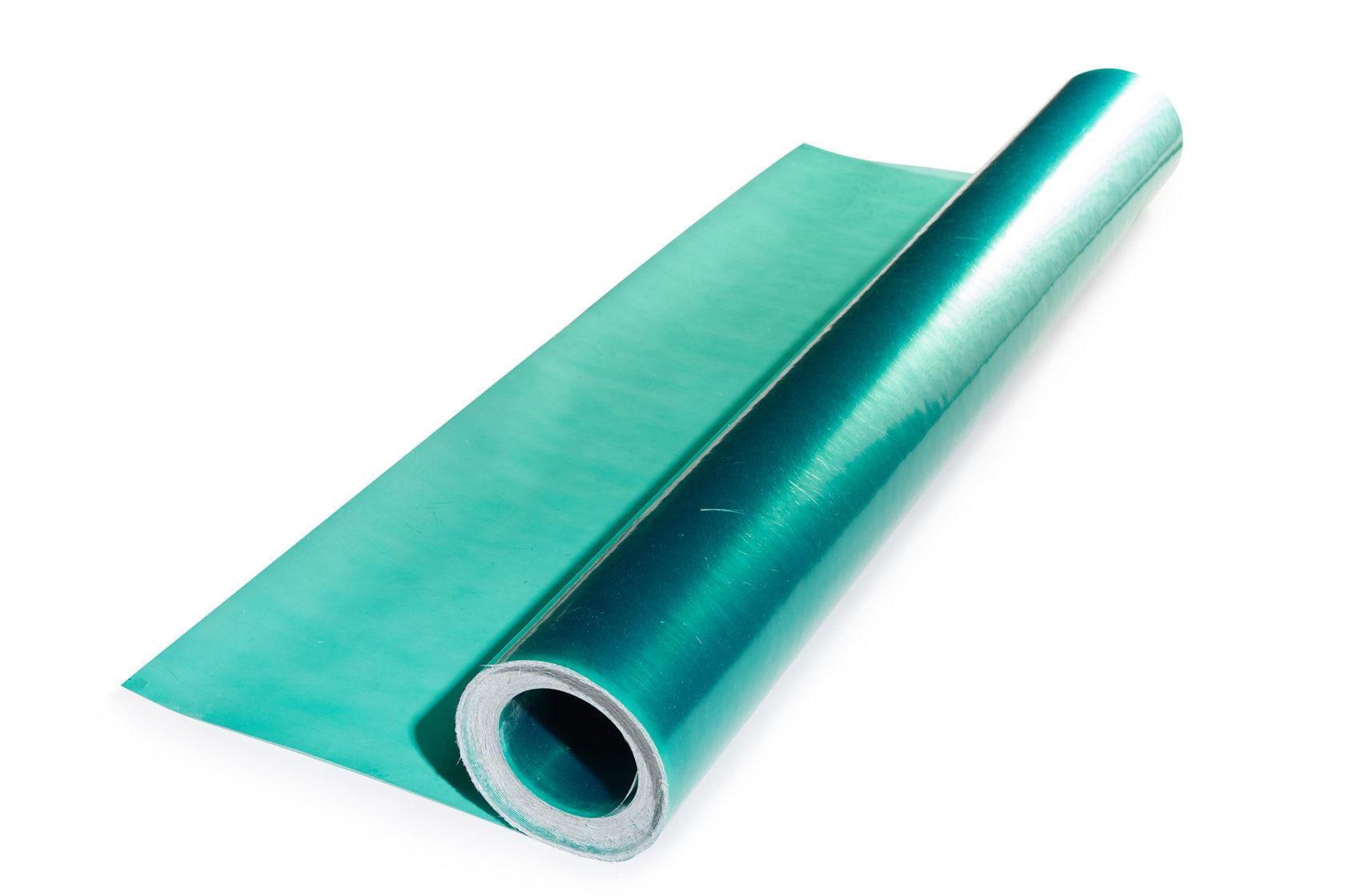 Прозрачный шифер Элипласт плоский рулонный зеленый