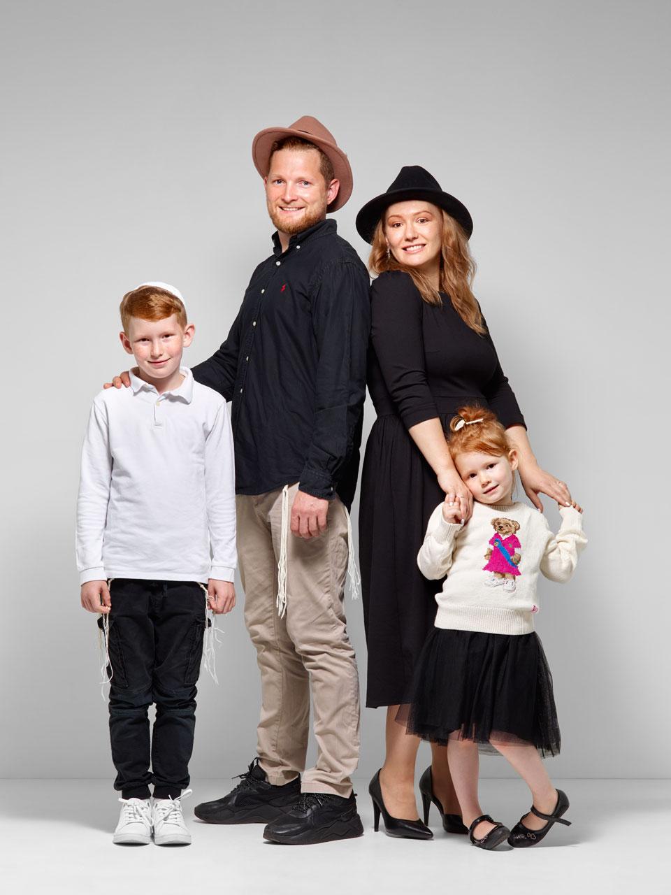 Семья Шулининых. Еврейсеие семьи. 5782