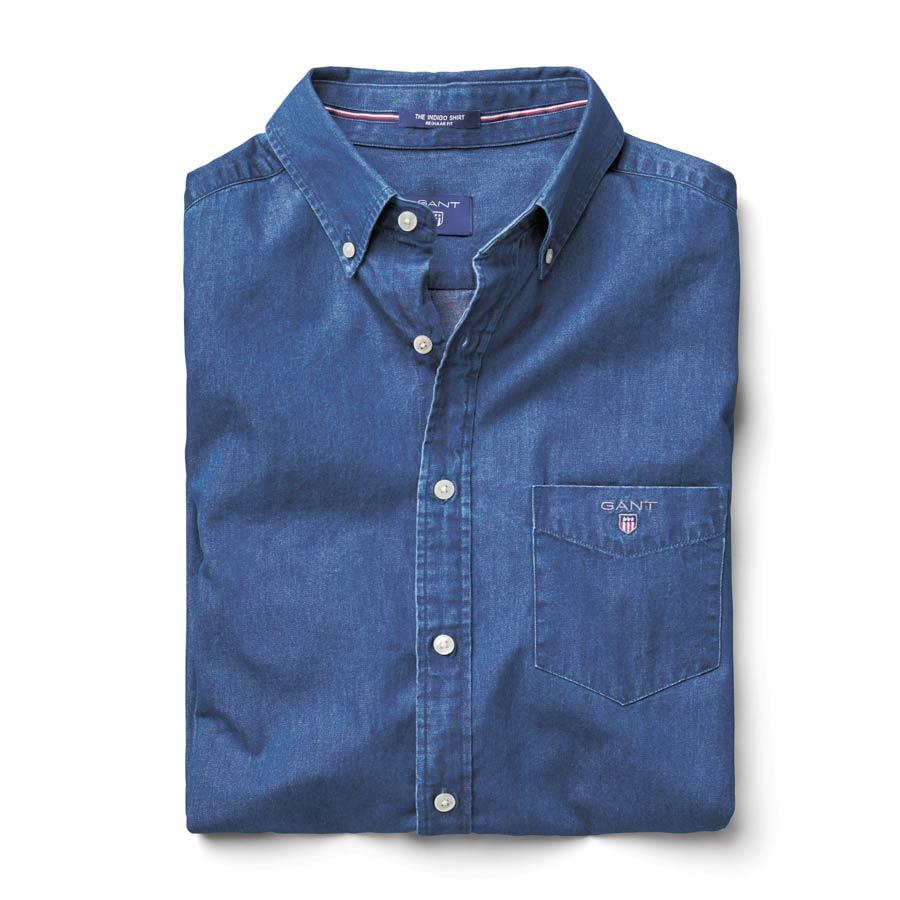 Джинсовая Рубашка GANT, 7630 руб.