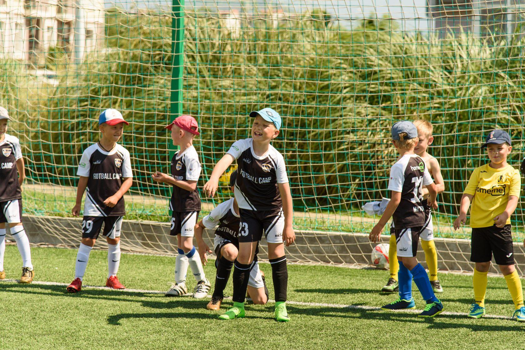 Футбольный лагерь реал мадрид в сочи