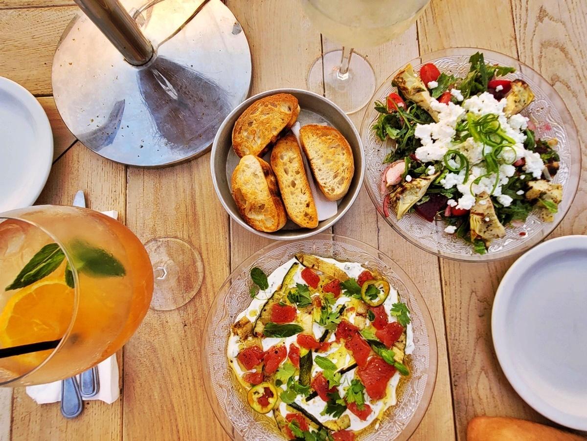Средиземноморская кухня. Тель-Авив