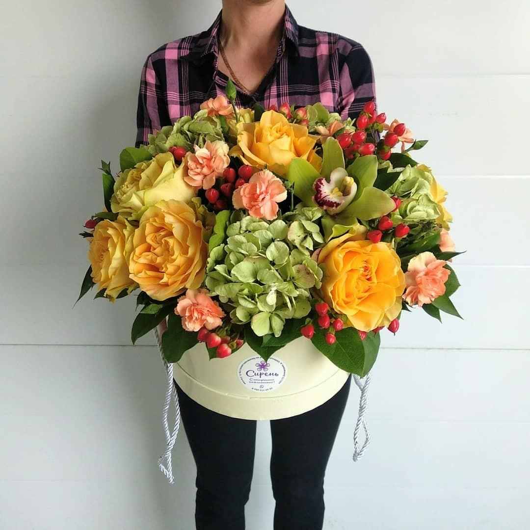 Букет, купить цветы каширская