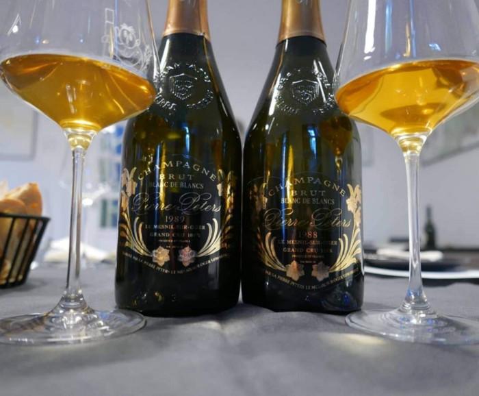 Champagne Pierre Peters Les Chetillons 1989 vs 1988