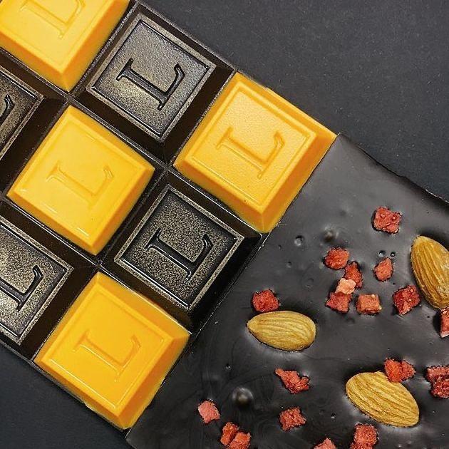 шоколад с апельсином