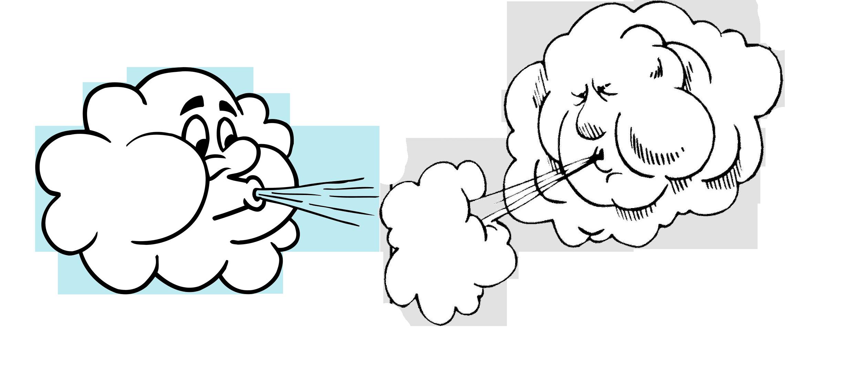 Детские картинки ветер дует