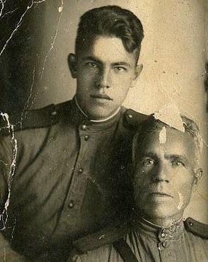 Иван  Иванович Могилёв и Владимир Иванович Могилёв