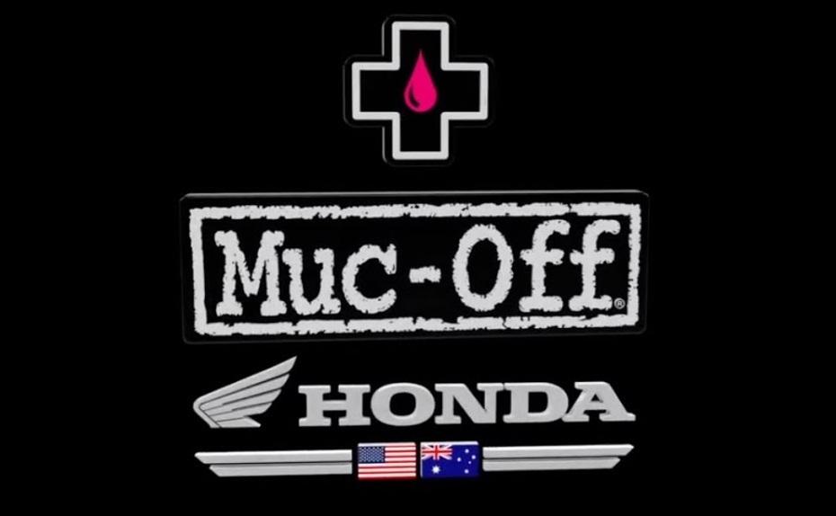 Компания Muc-Off становится титульным спонсором Penrite Honda