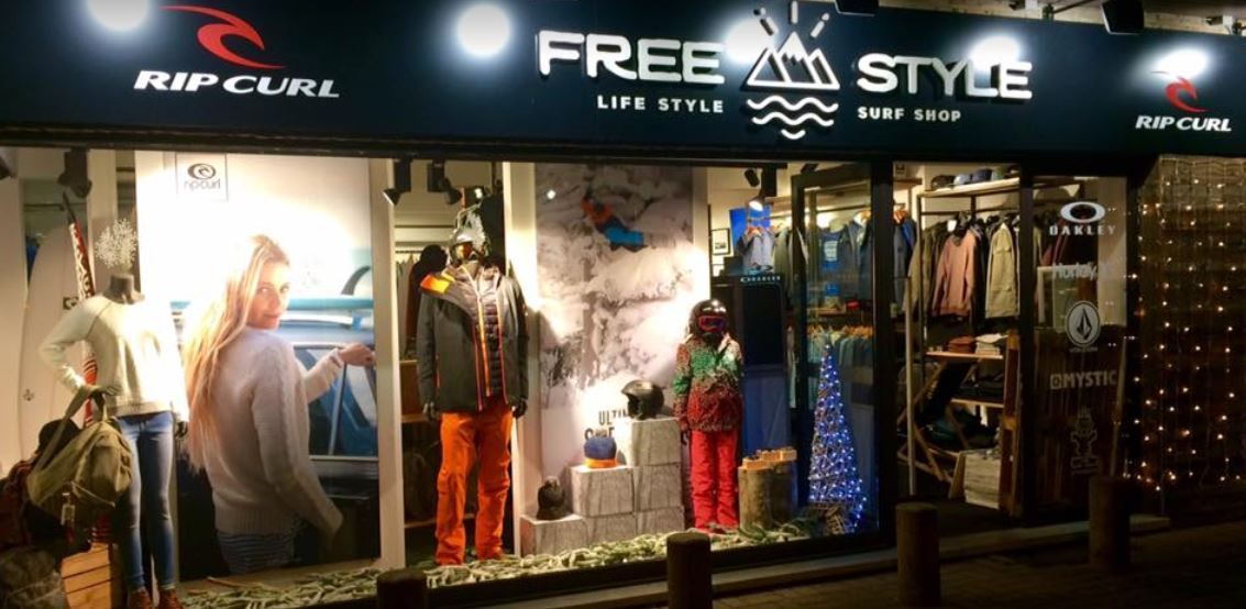 Shopitag success story - Free Style Surf shop