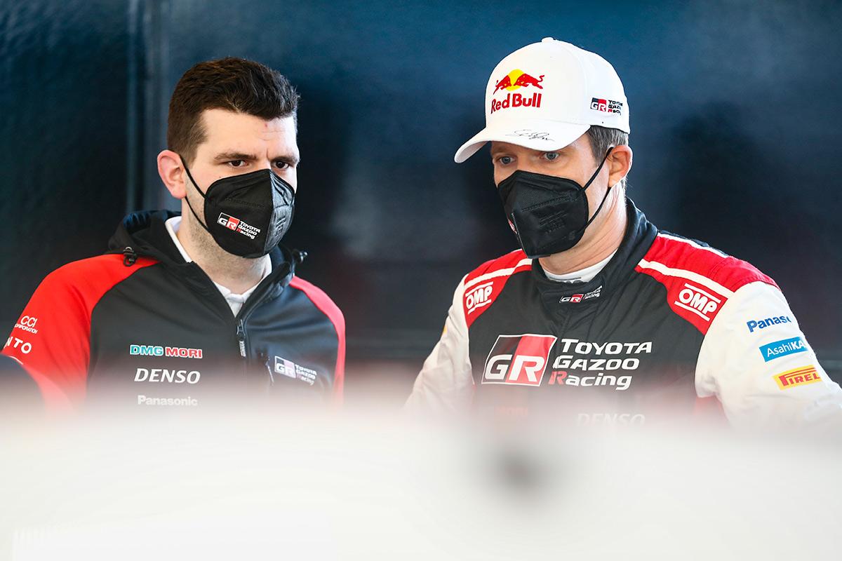 Кевин Стрёйф и Себастьен Ожье (Toyota), ралли Хорватия 2021
