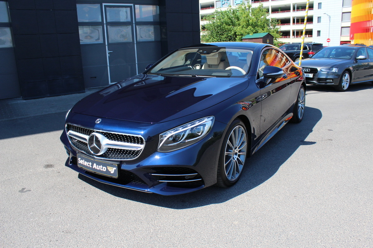 Mercedes-Benz S 560 4Matic Coupe