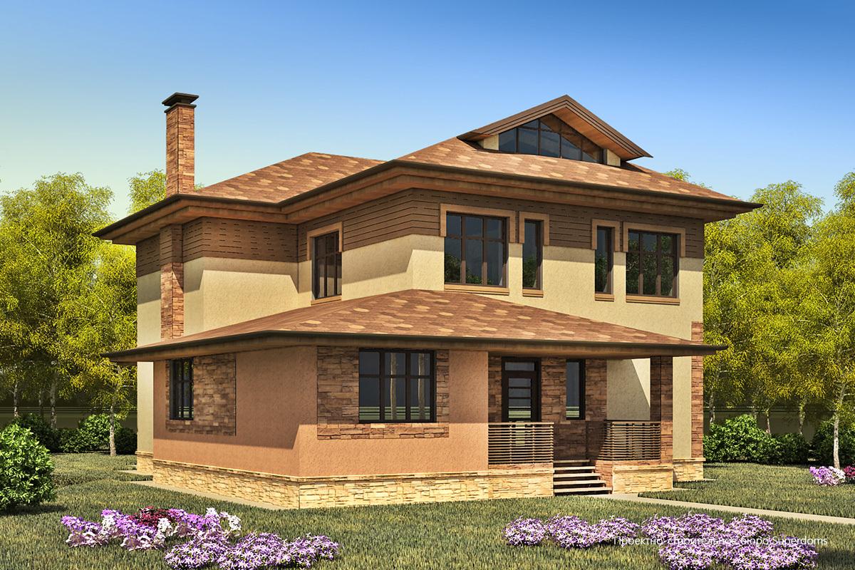 кирпичный дом с террасой проекты фото этом месте