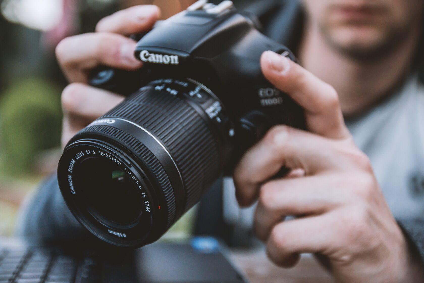 Профессиональная камера для фотографов