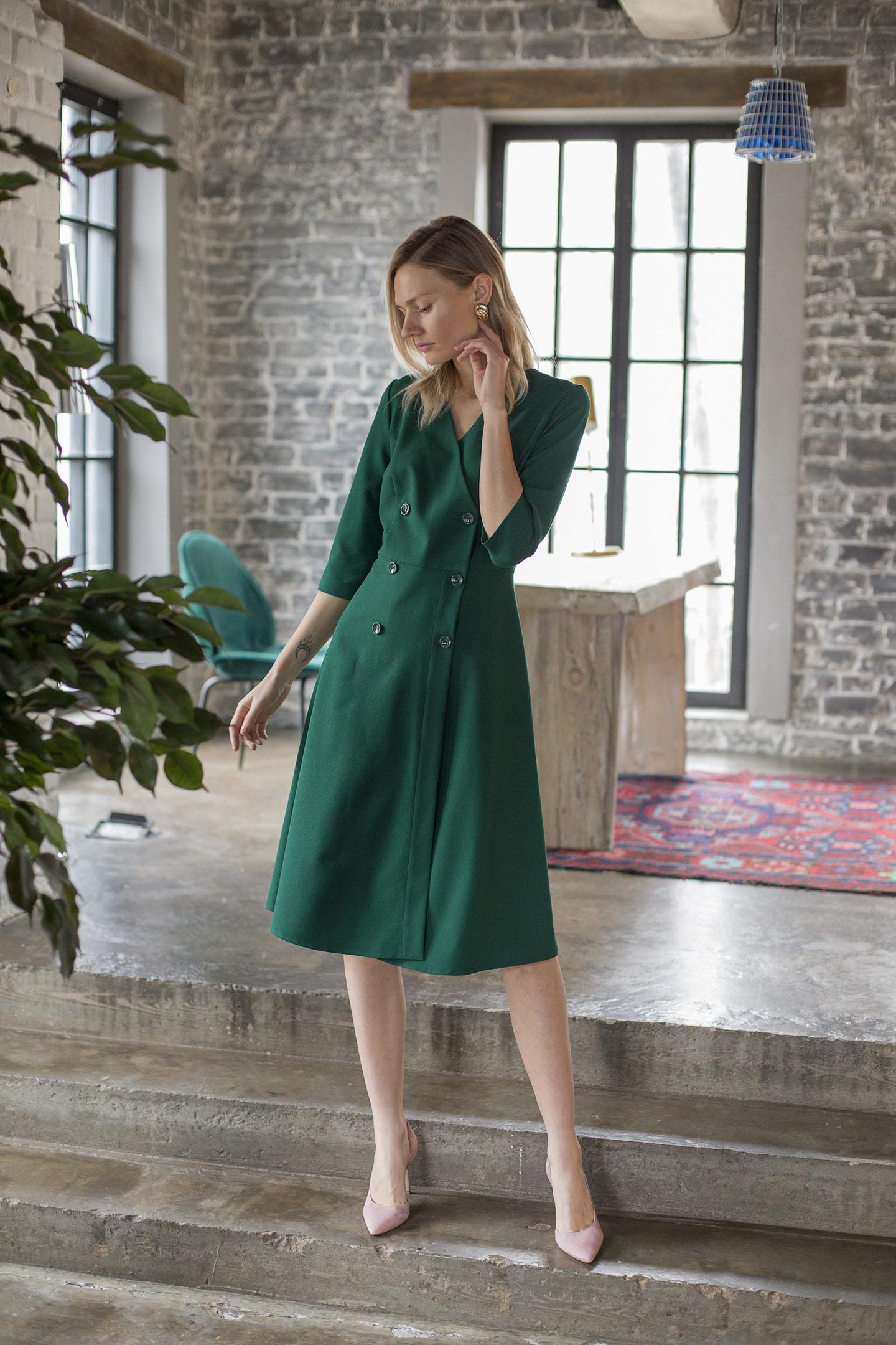 деловое платье, платье для офиса, купить платье в спб, российские дизайнеры