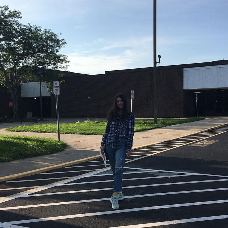 Мой первый поход в Американскую школу
