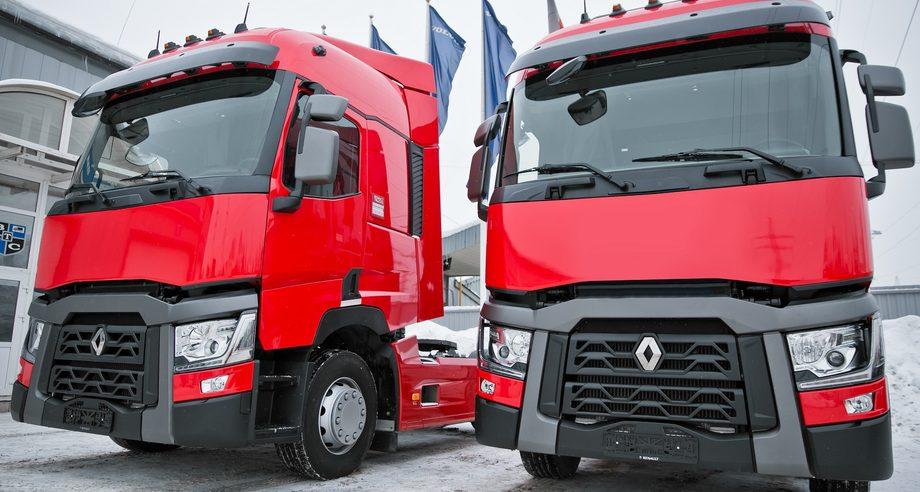 В российском офисе Coca-Cola впервые обратили внимание на тягачи марки Renault (фото: Renault Trucks)