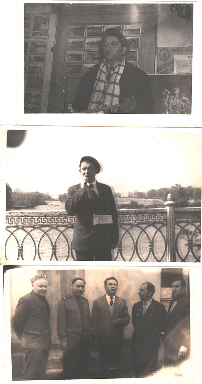 Д.П. Медведев с соратниками