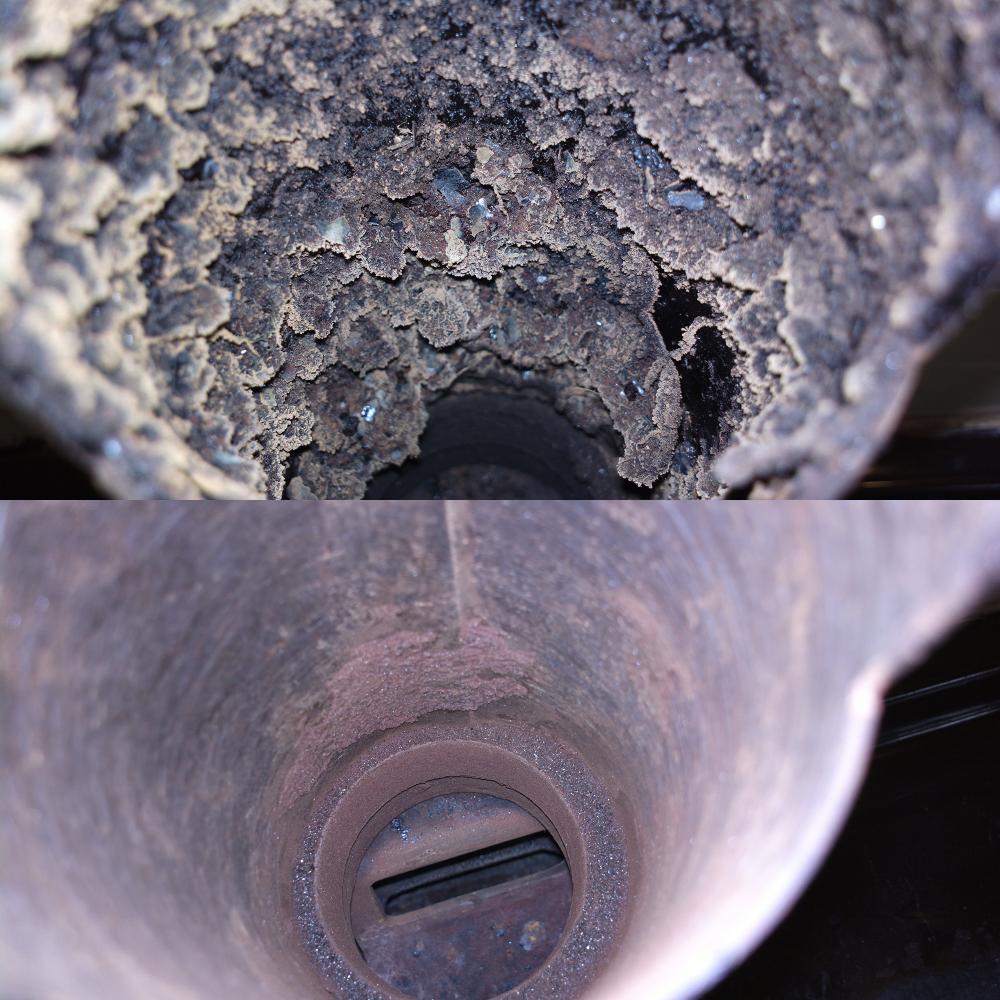 как очистить дымовую трубу от сажи