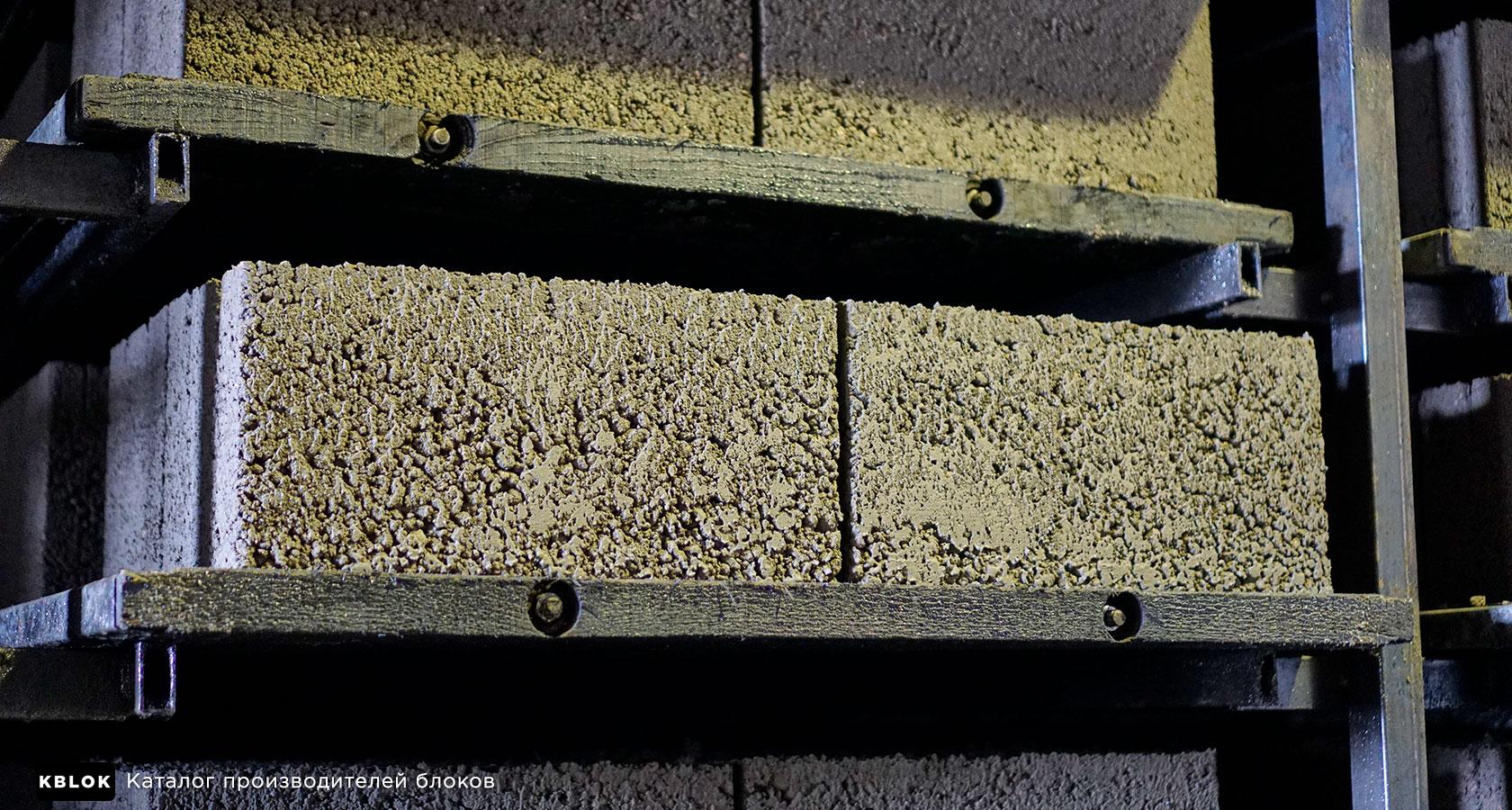 внешний вид керамзитобетонных блоков