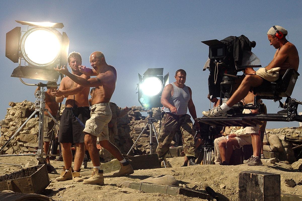 Рабочие моменты съемок, Рабочие моменты съемок промо-ролика программы 22 фотография