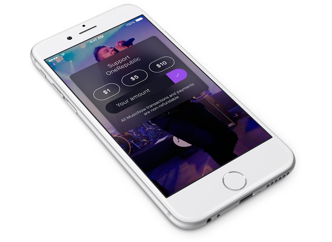 Приложение MusicNow