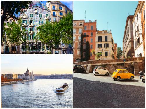 Барселона, Рим, Будапешт в октябре