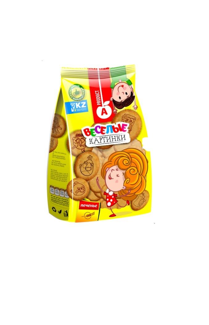 Печенье веселые картинки алматинский продукт, анимацией