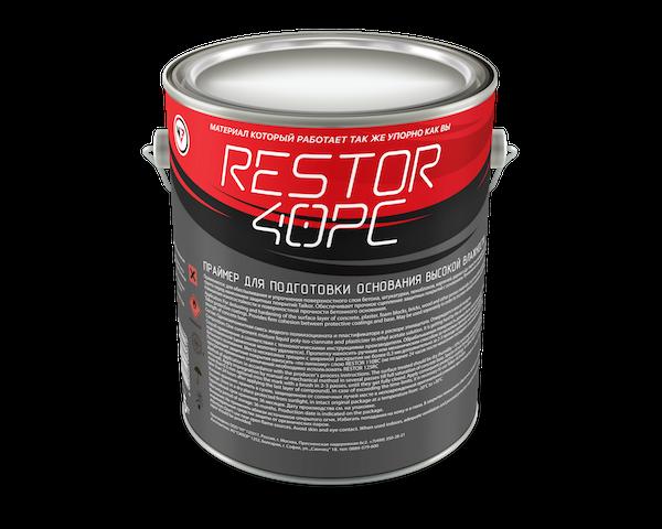RESTOR 40PC Праймер для подготовки  основания большой влажности