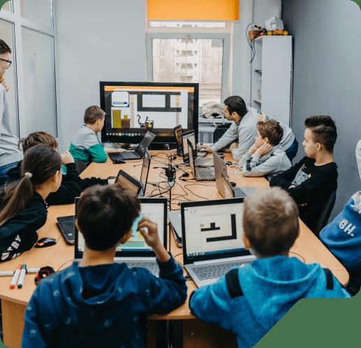 комп'ютерні курси для детей Борщаговка, Колибрис