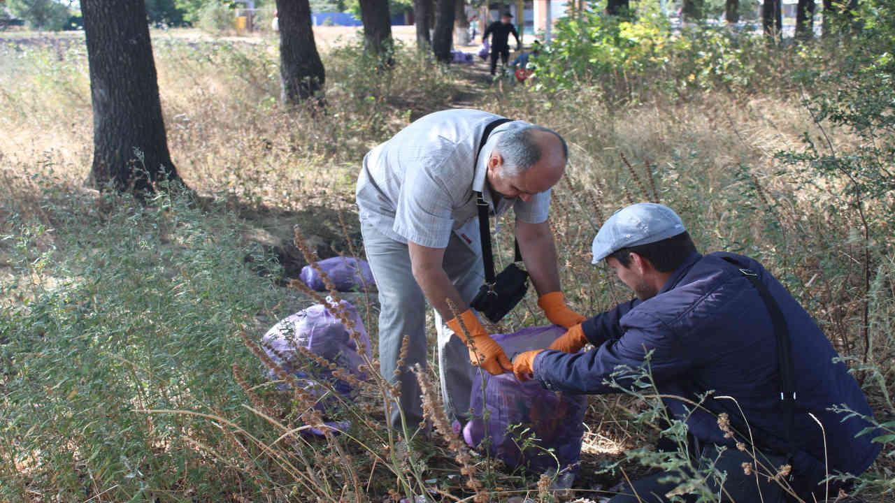 Активисты партии шария в Подольске
