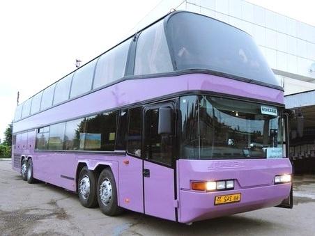 Автобус по маршруту Москва - Лермонтово