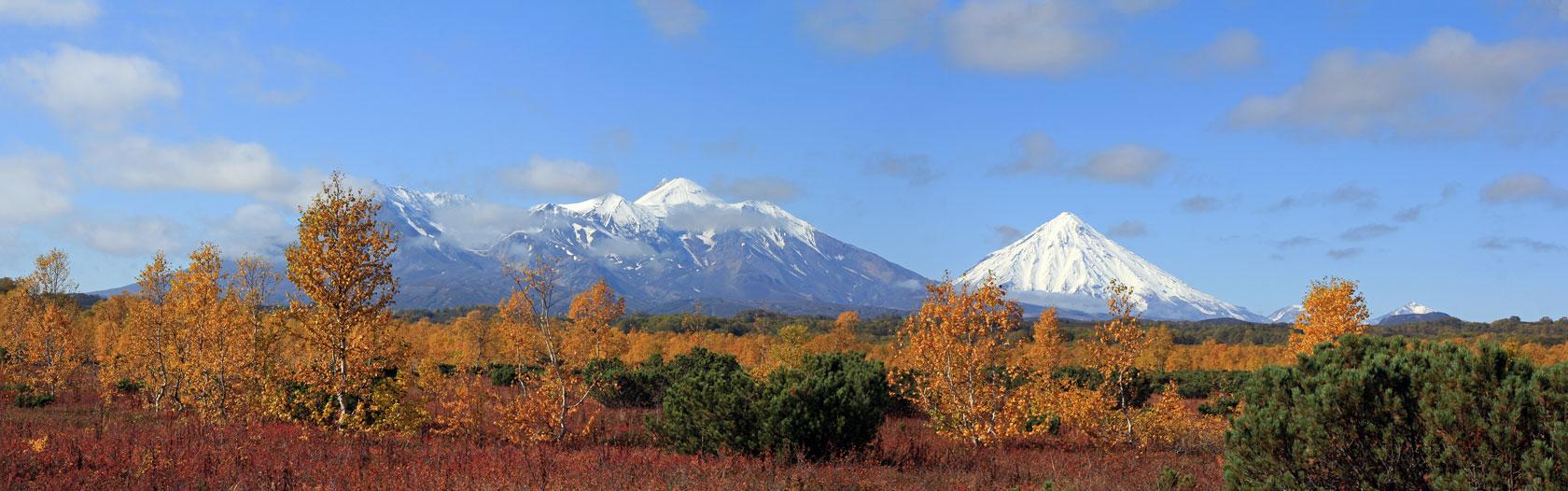 Сентябрь наступает. Группа домашних вулканов со стороны Седловинских озёр