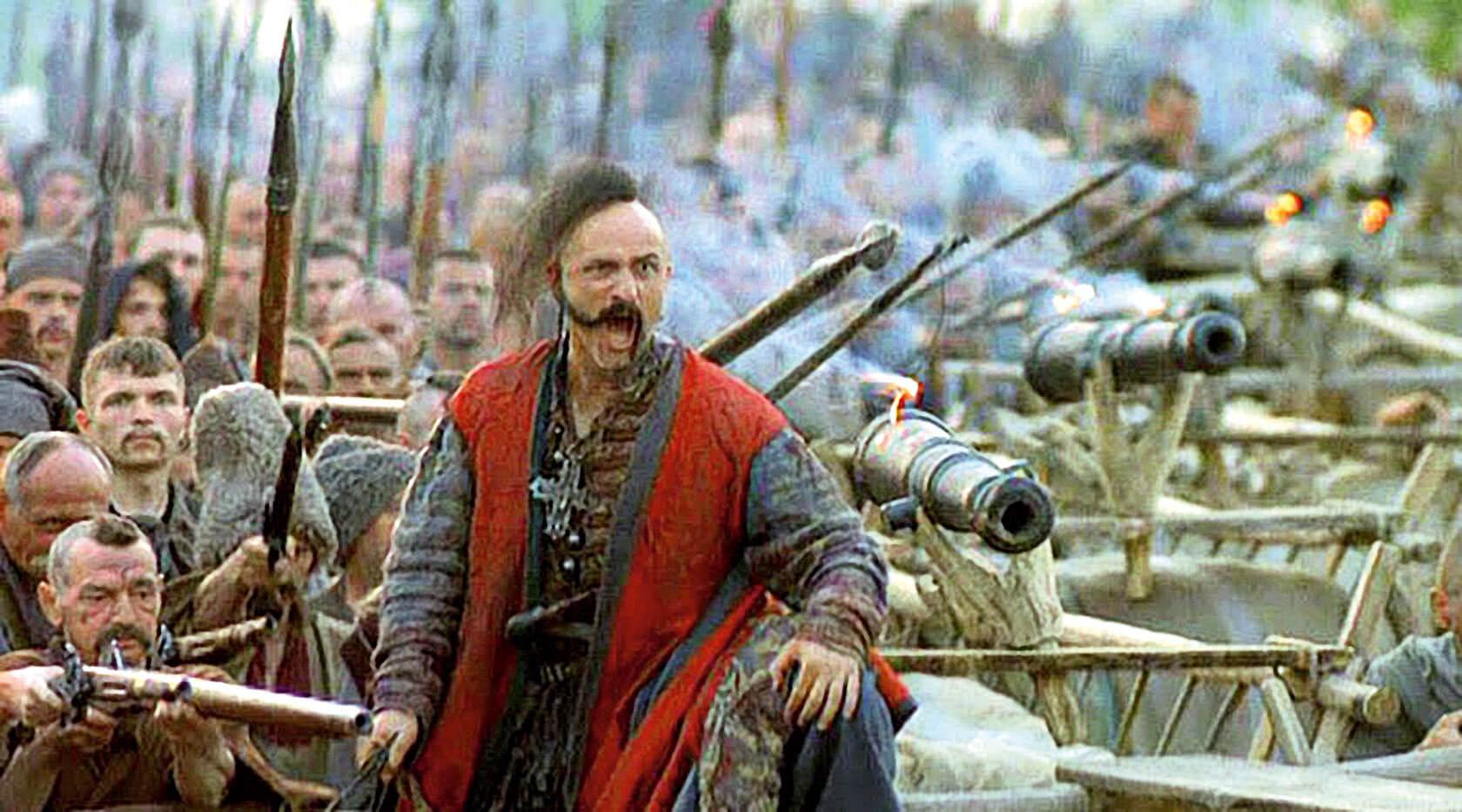 Кадр из сериала «Огнем и мечом» (1999)