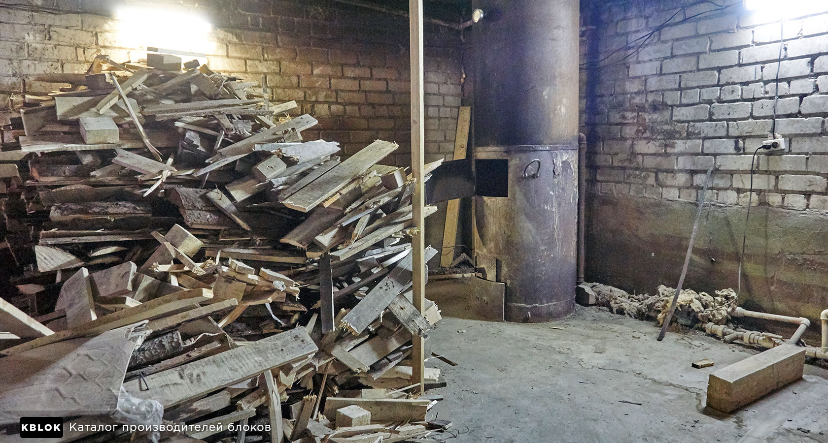 дровяная печь для сушильного цеха