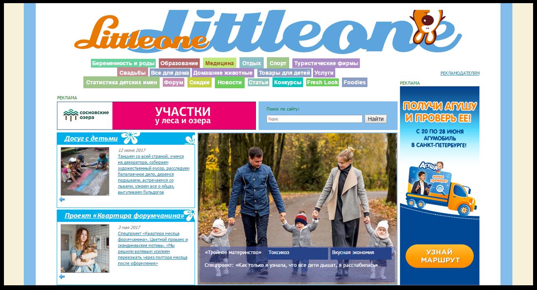 Первоначальный вид интернет-портала | SobakaPav.ru
