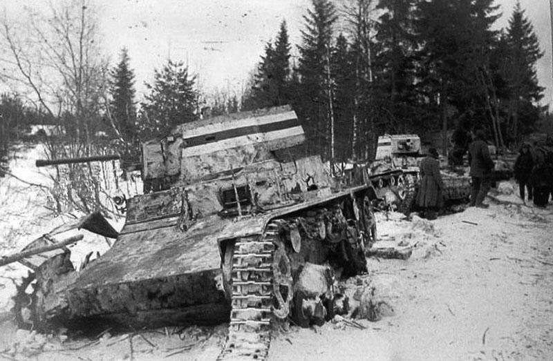 Трофейные танки. Март 1940 г.