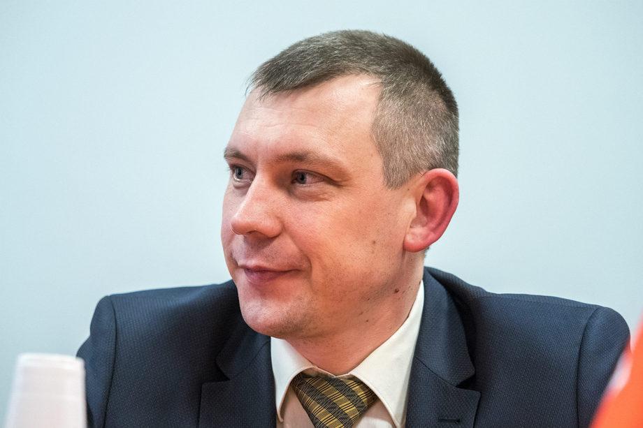 Заместитель председателя жилищного комитета Санкт-Петербурга Сергей Шарлаев