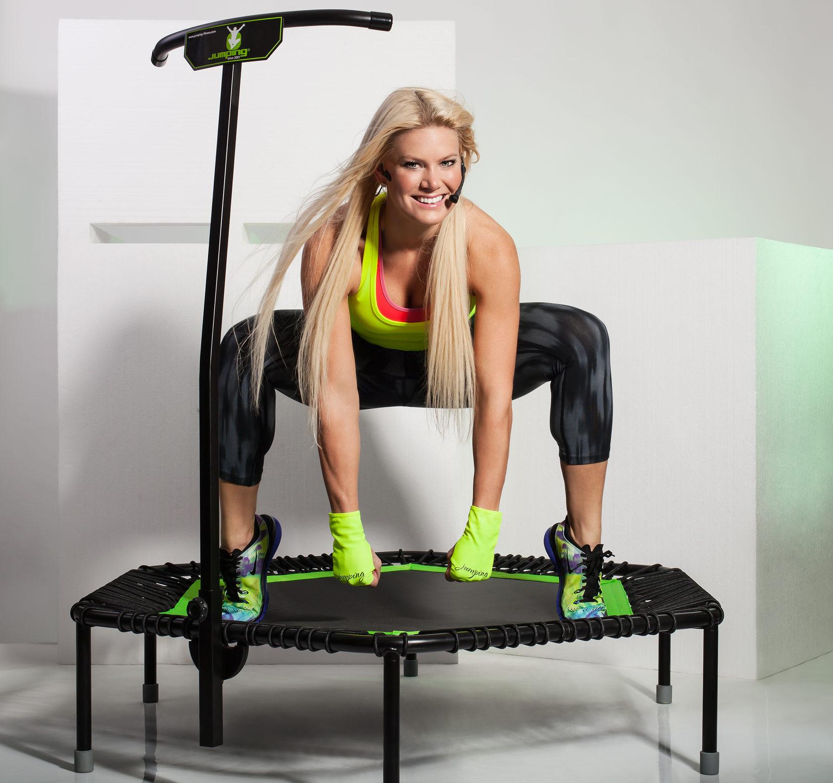 Фитнес-батуты для джампинга с компьютером