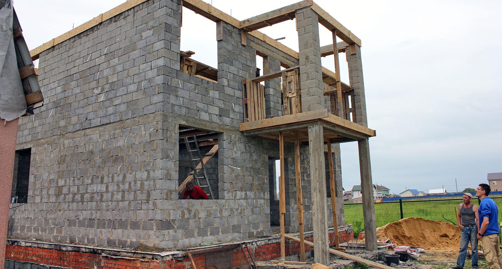 Балкон из керамзитобетона блоки из керамзитобетона цена размеры