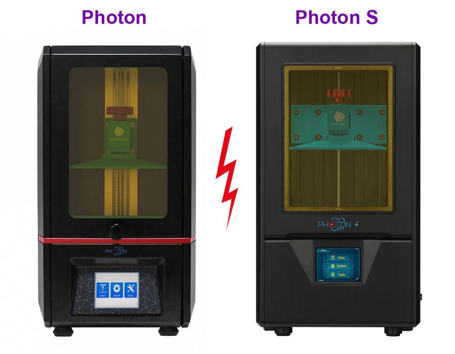 Что купить Anycubic Photon или Anycubic Photon S?