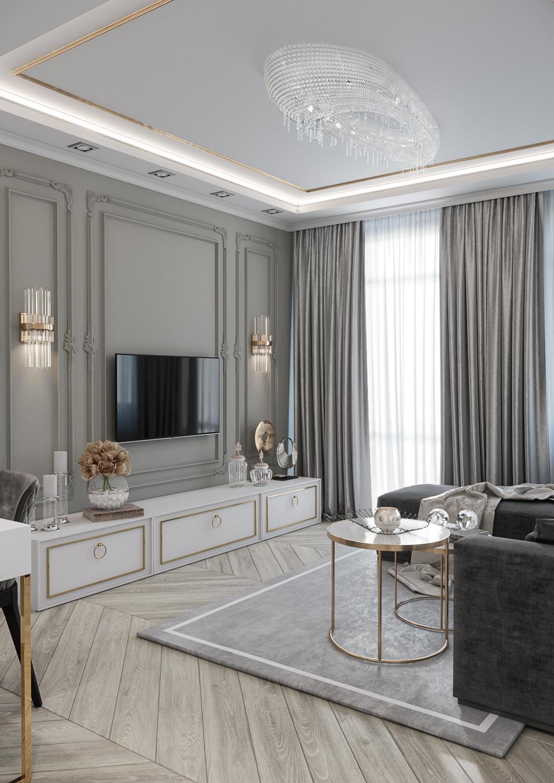дизайн квартир в современной классике фото фасадов