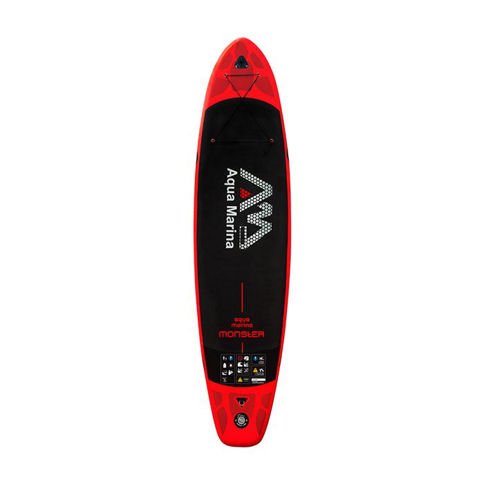 Купить SUP-доску Aqua Marina MONSTER с веслом SPORTS Aluminum Red S18 - цена, продажа, каталог.